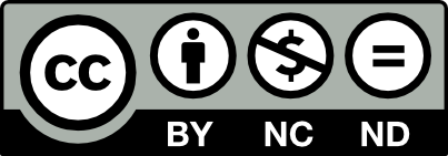 CC BY-NC-ND license icon