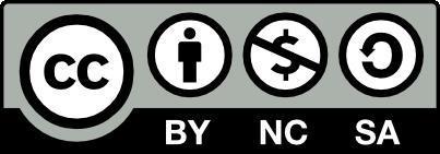 CC BY-NC-SA license icon